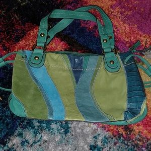 Fossil Mermaid Leather Bag